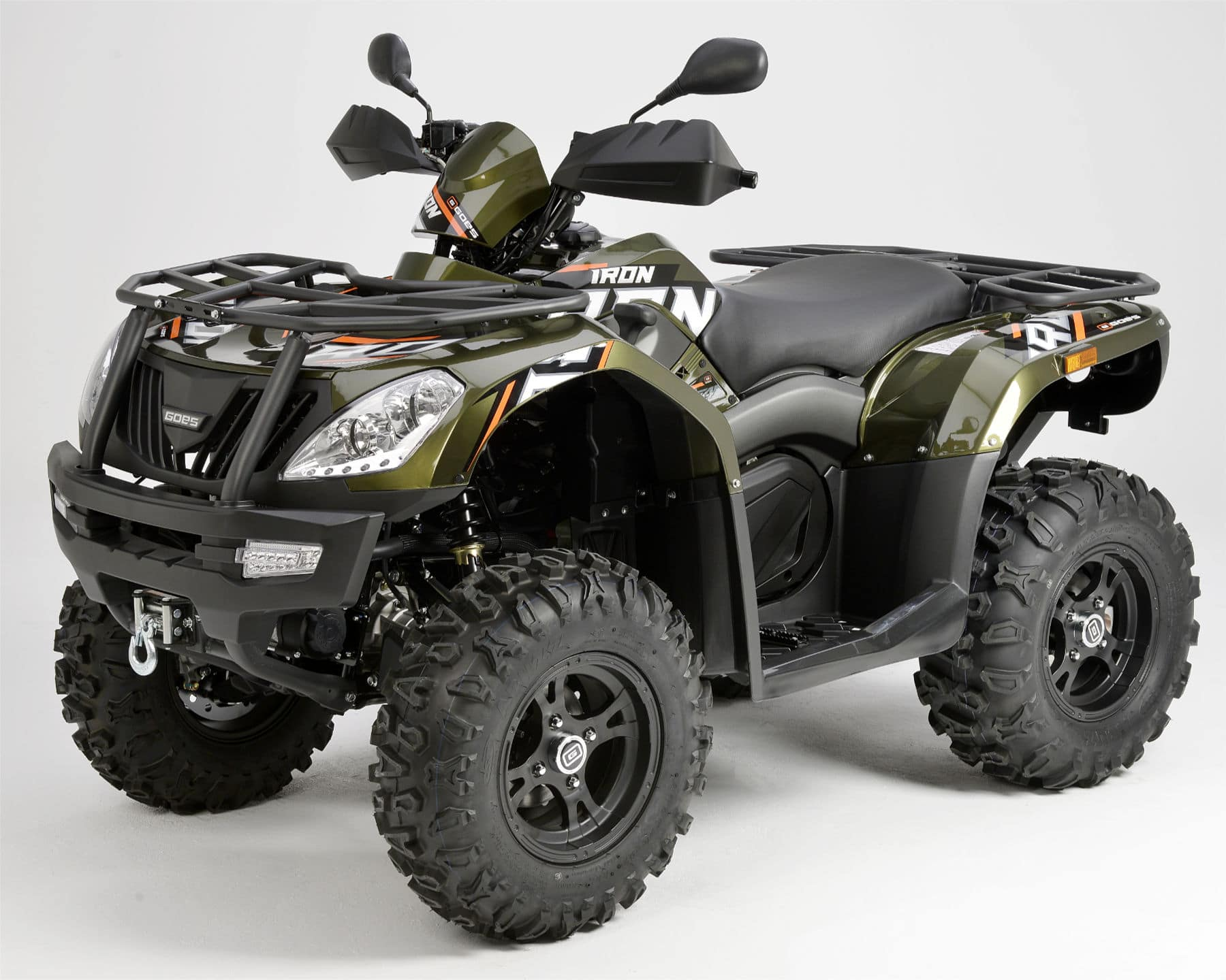 Grøn ATV iron